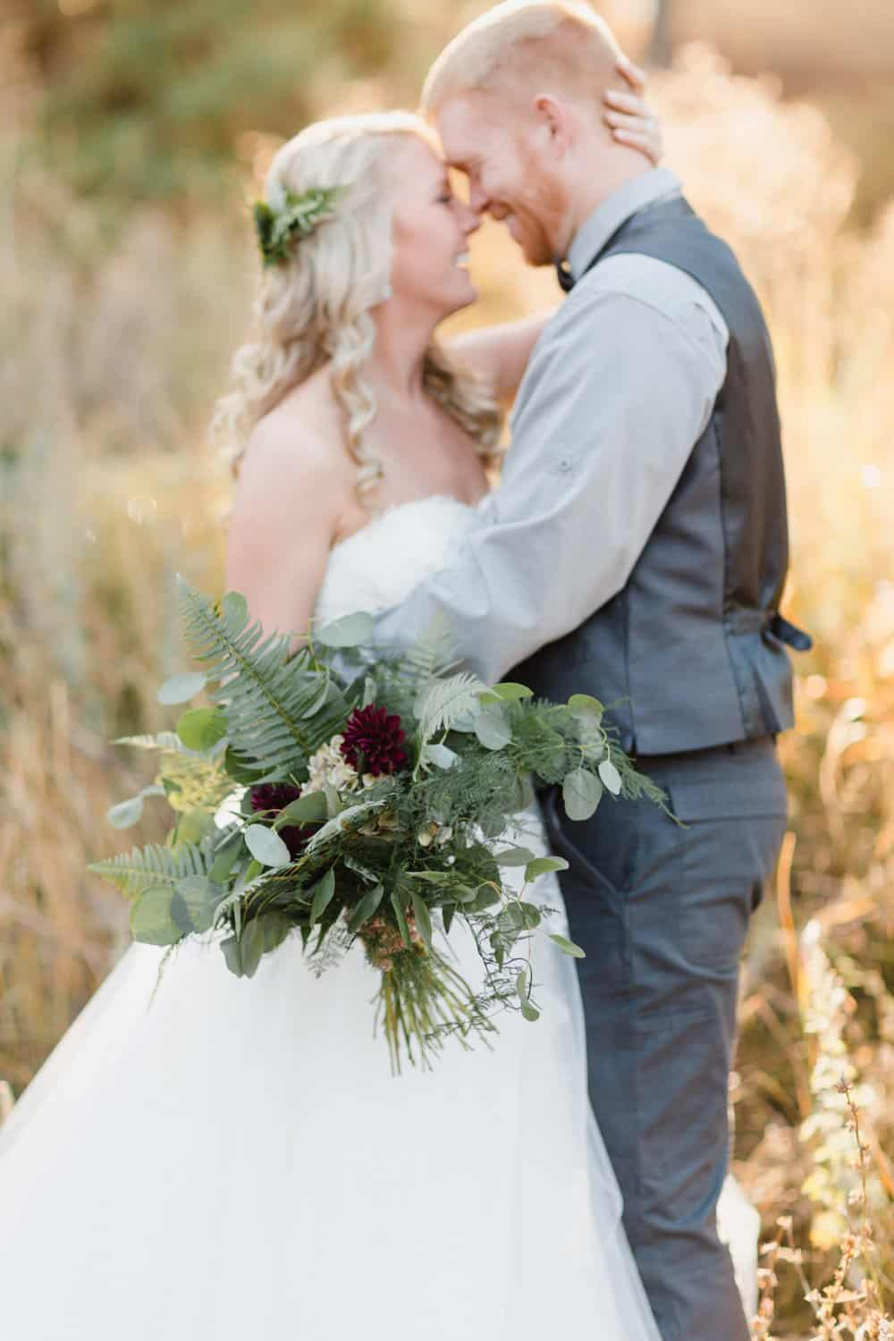 couple shots, bride and groom
