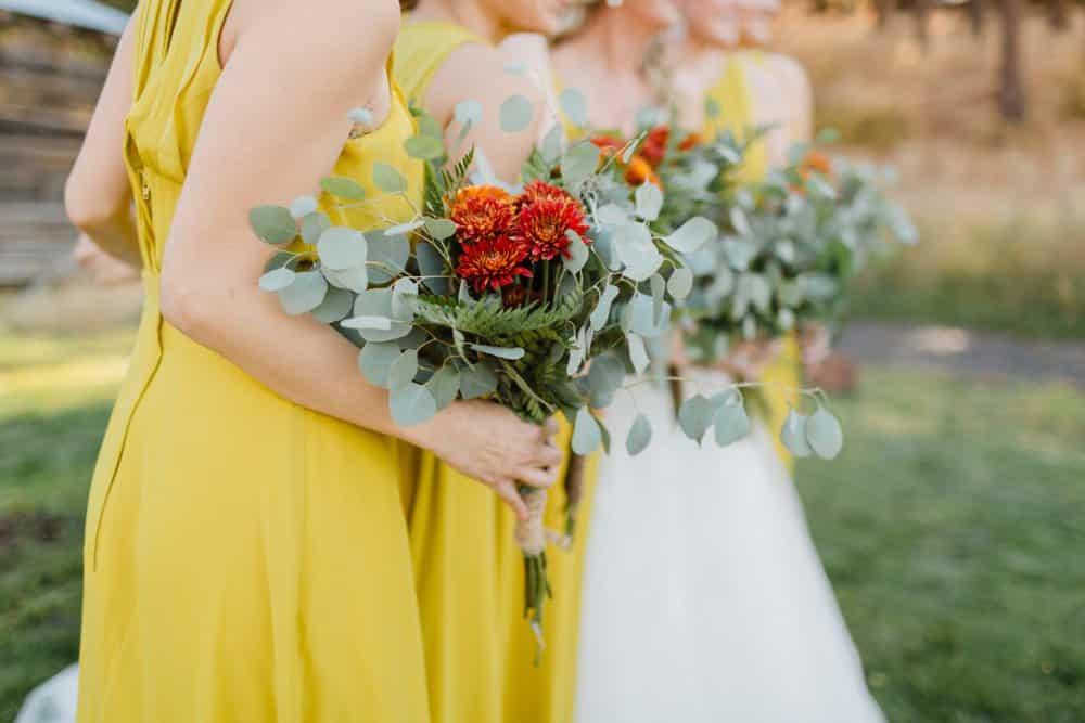 DIY wedding bouquets,