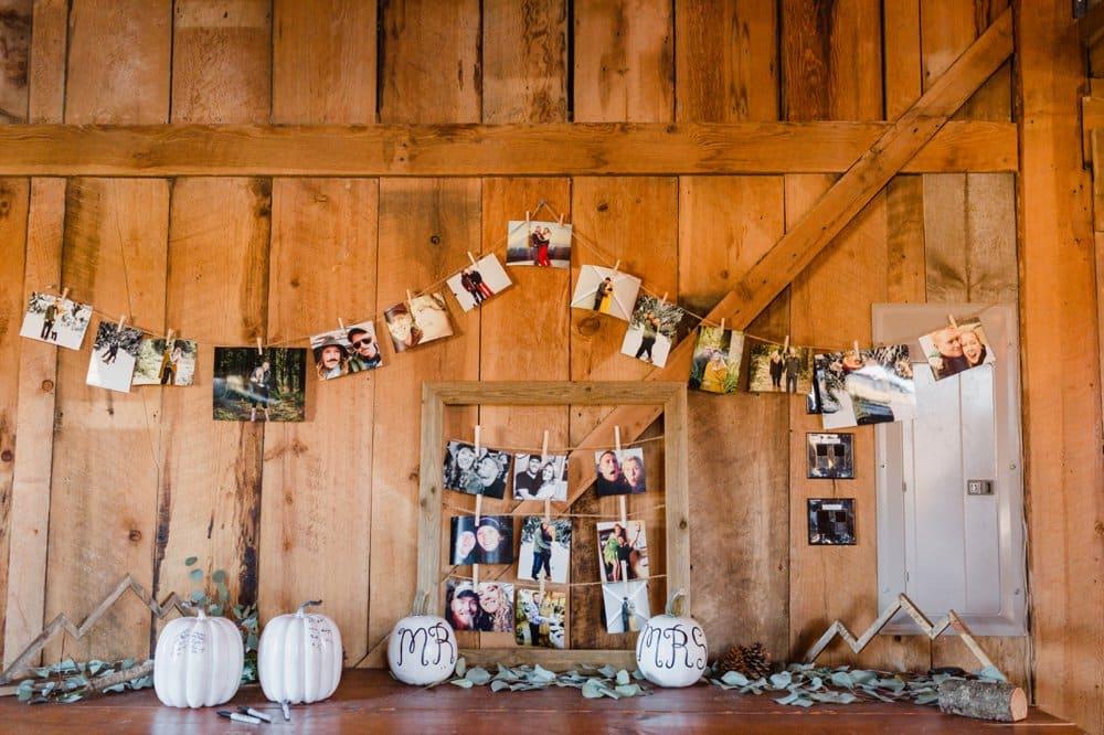 diy wedding decor, fall wedding, barn wedding decor