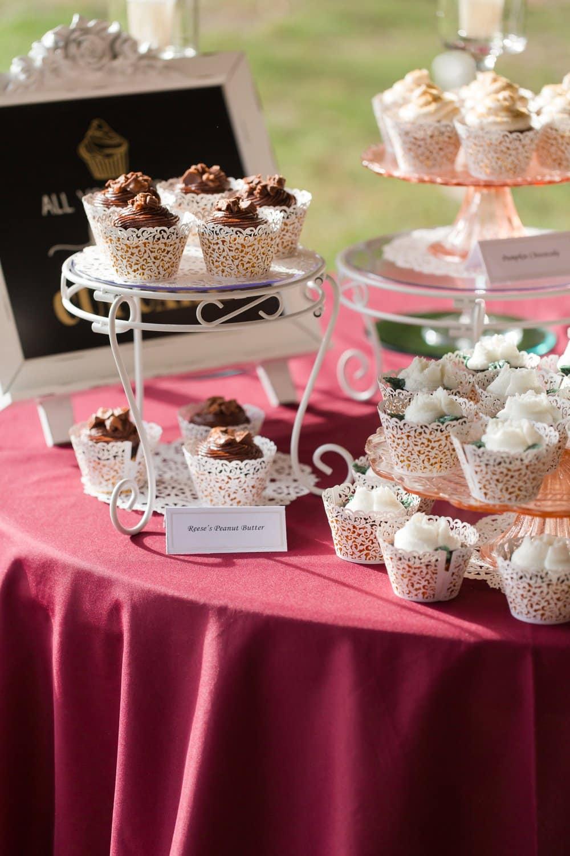 dessert table, diy wedding dessert