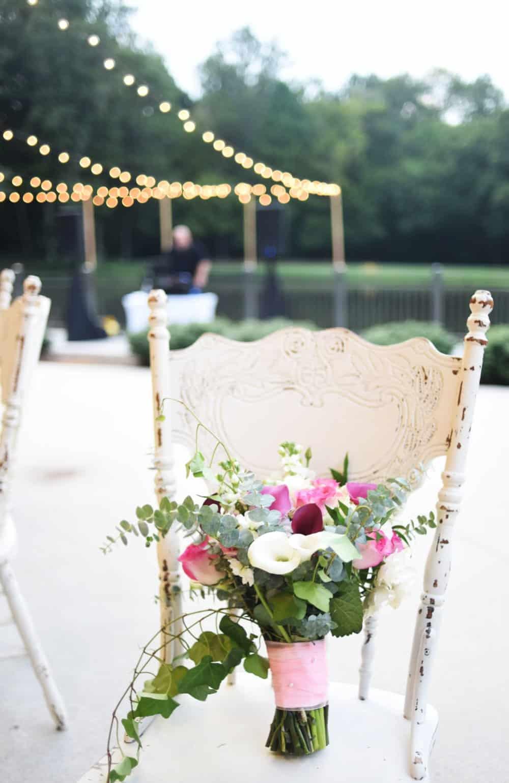 antique wedding decor, wedding details