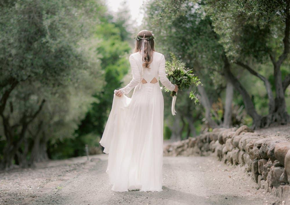 napa elopement bride style