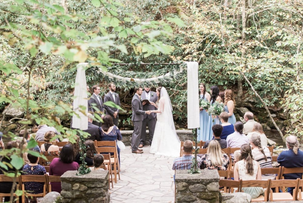 wedding ceremony, outdoor wedding