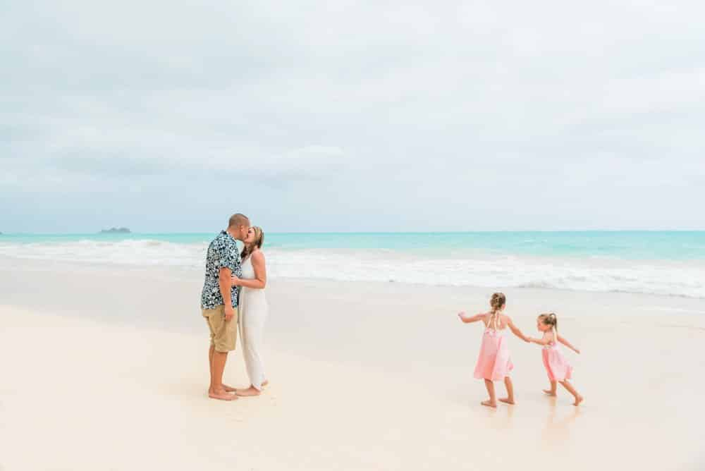 small and simple island elopement in Hawaii