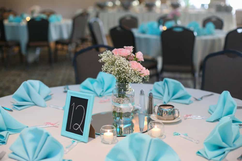 Tiffany Blue And Blush Summer Wedding The Budget Savvy Bride