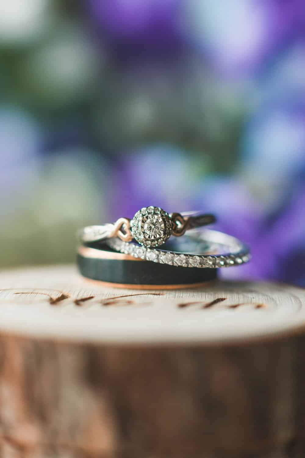 CA Rustic Spring Wedding, ring shot