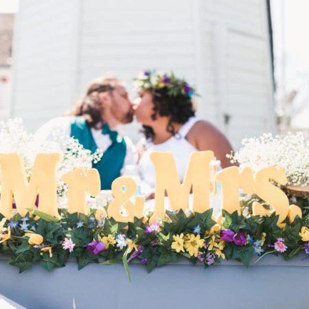 CA Rustic Spring Wedding