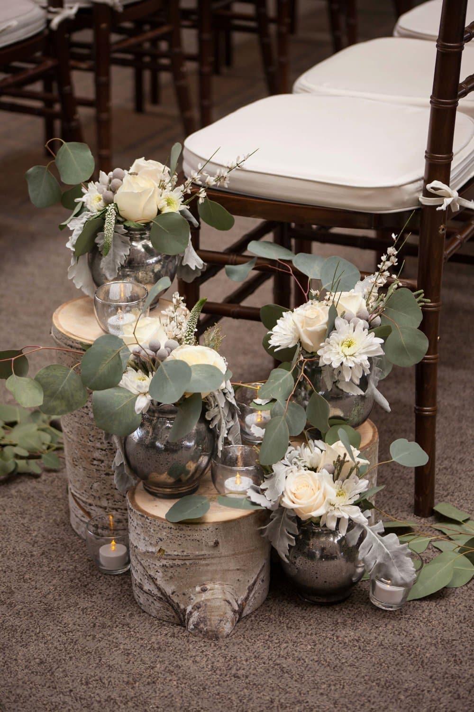 floral ceremony decor