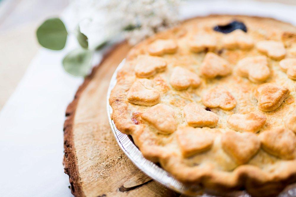pie, wedding pie, wedding cake alternative