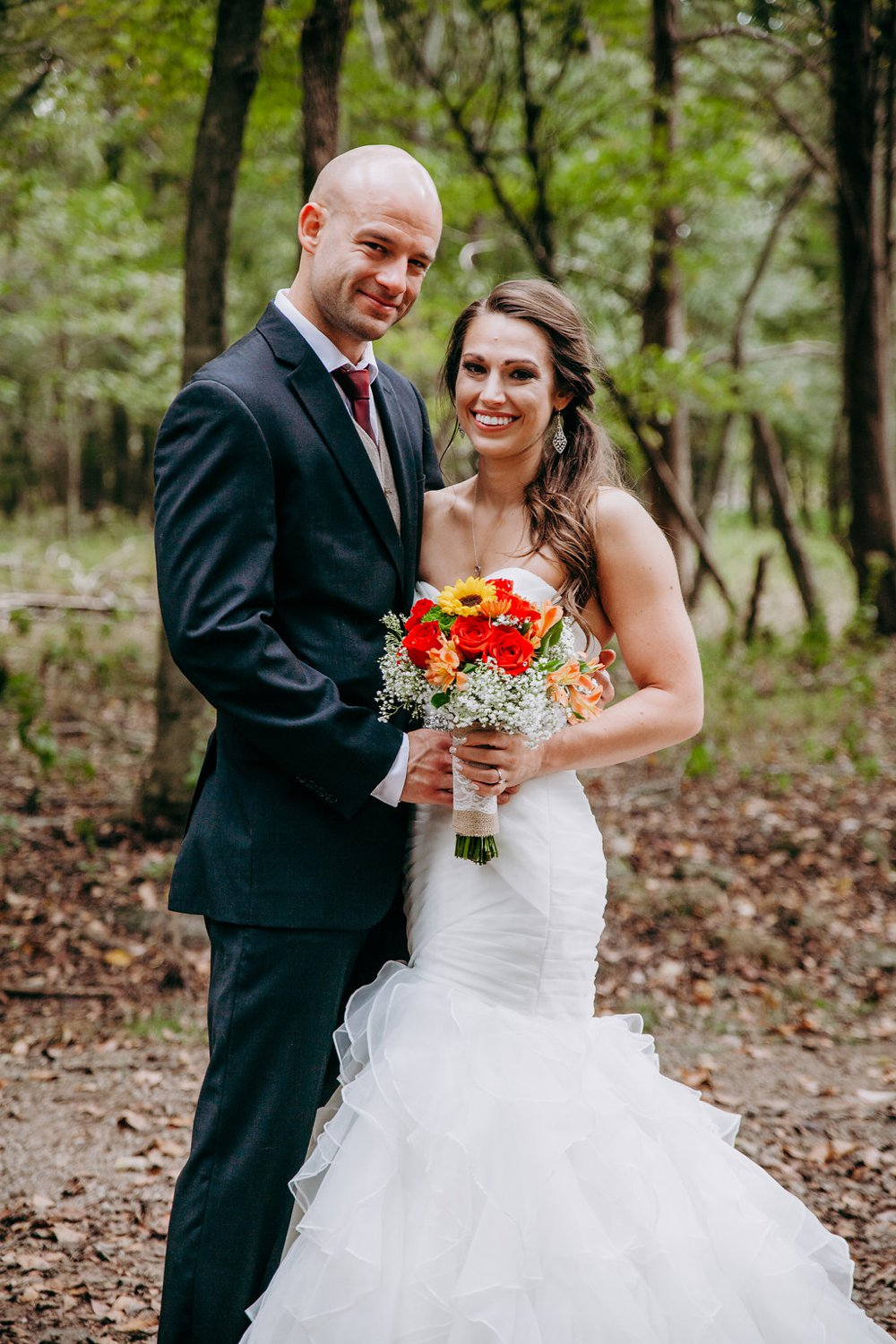 Fall Forest Wedding in TN