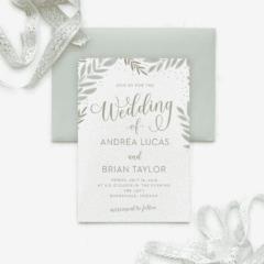 Graceful Garden Wedding Invitations