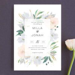 Grande Botanique Wedding Invitations