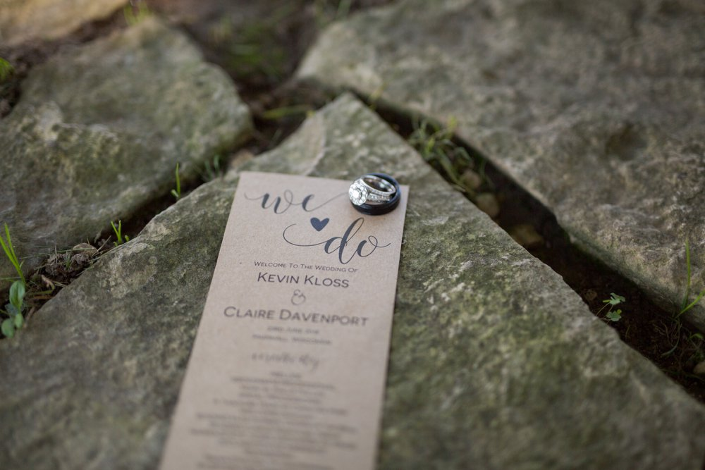 Rustic Twilight Wisconsin Wedding