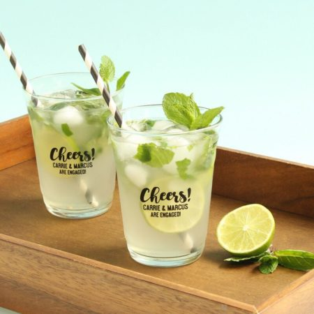 Personalized Frosted Plastic Cups