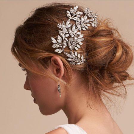 Handmade Crystal Opal Rhinestone Hair Vine