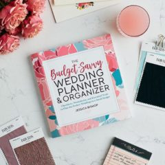 The Best Wedding Planner Book: The Budget-Savvy Wedding Planner & Organizer by Jessica Bishop, founder of The Budget Savvy Bride