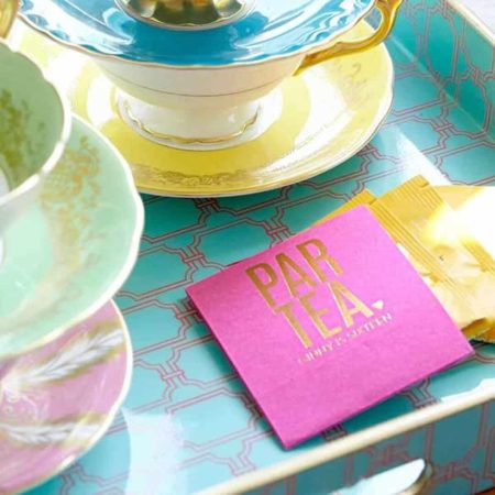 Personalized Tea Favors