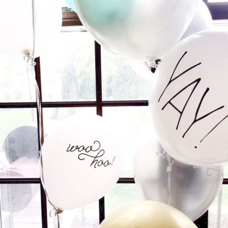 Personalized Designer Balloons