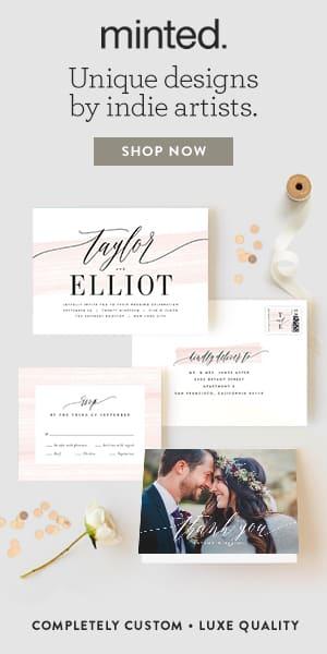 Minted Wedding Invitations