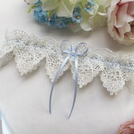 Something Blue Wedding Garter