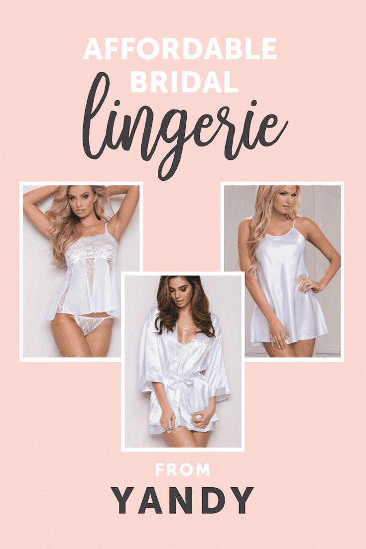 Where to find Affordable Lingerie for Your Wedding Night - Yandy