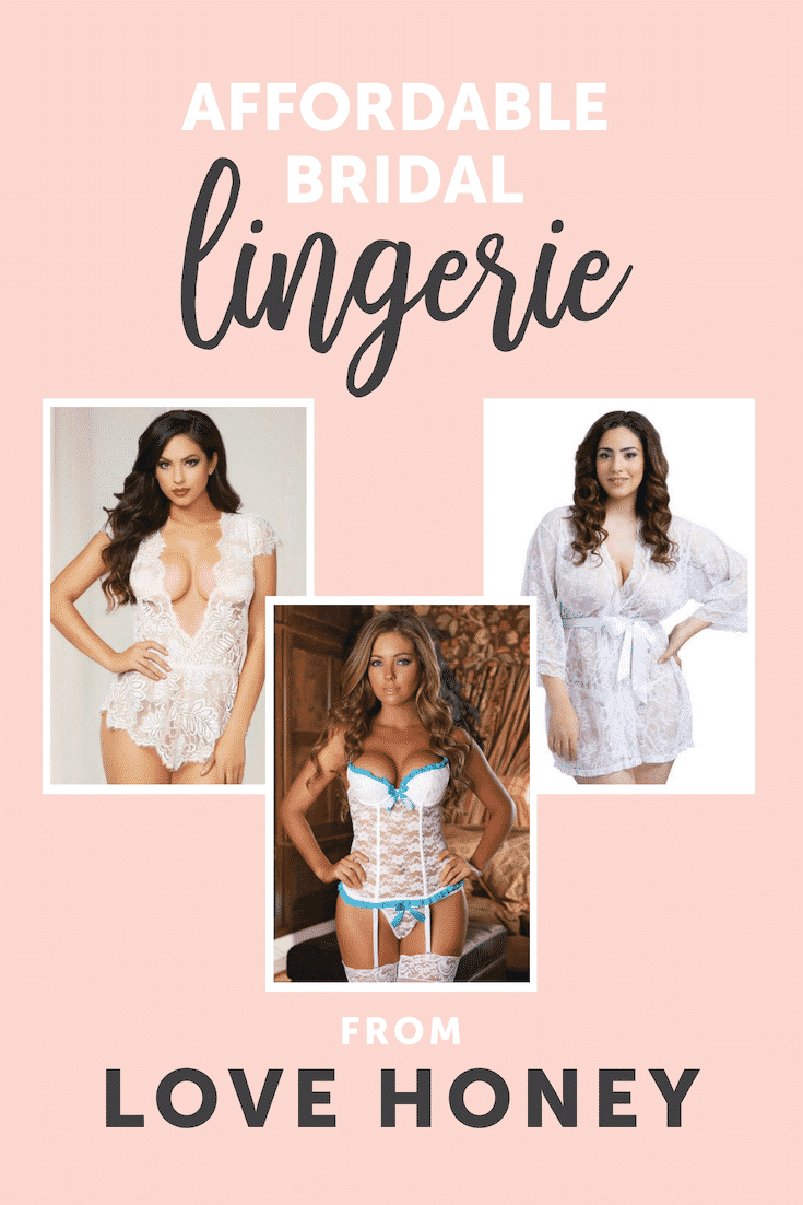 Where to find Affordable Lingerie for Your Wedding Night - Love Honey