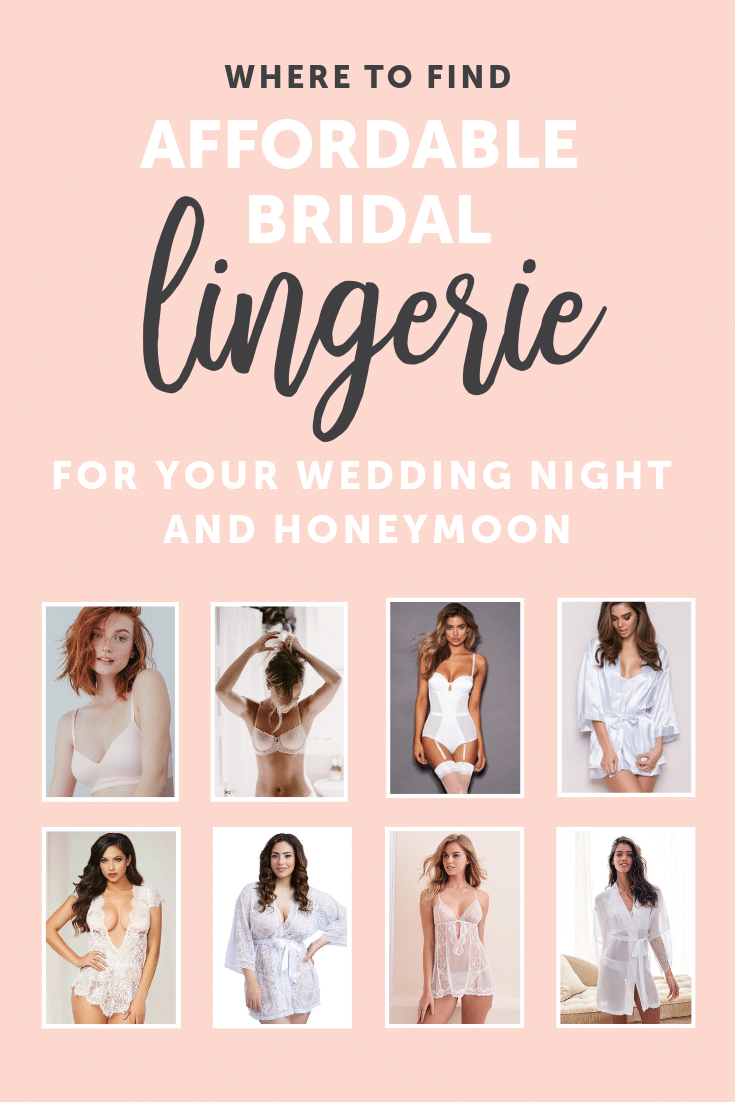 Where to find Affordable Lingerie for Your Wedding Night