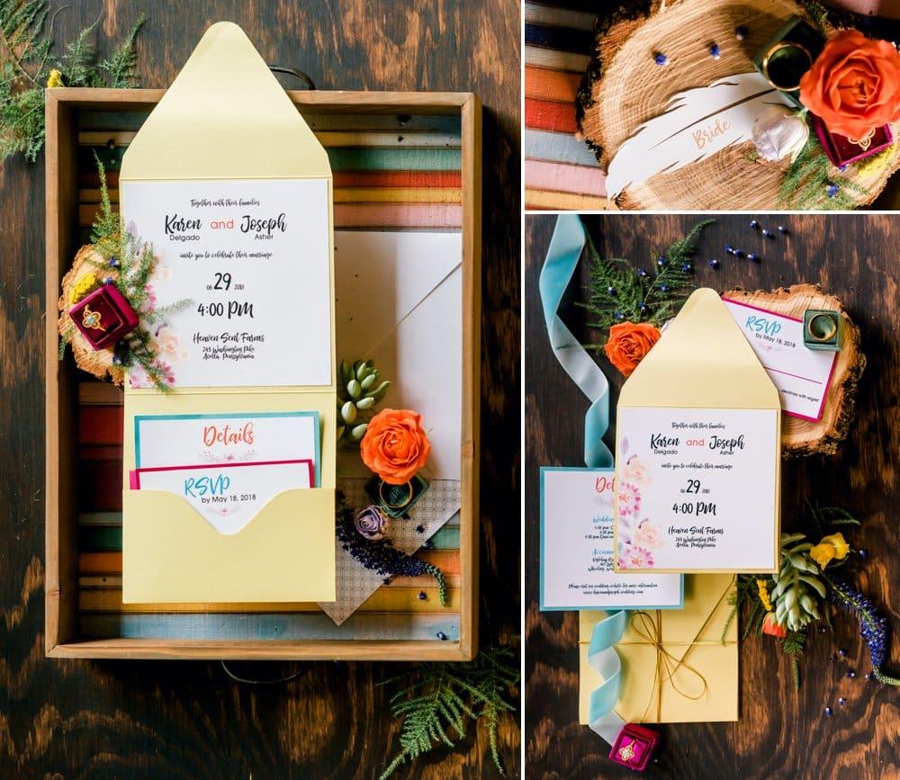 Colorful Boho Wedding Shoot