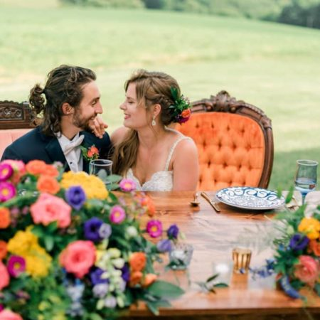 Colorful Boho Wedding Shoot