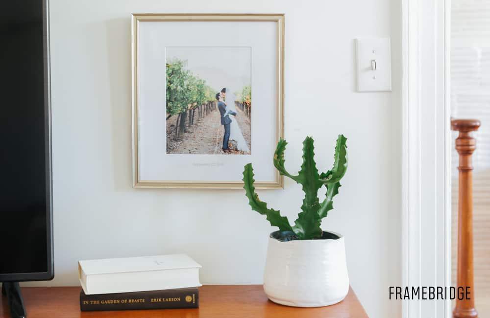 Framebridge - The Easiest Way to Frame Your Wedding Photos