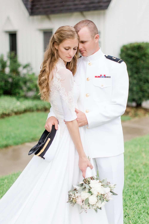 Simple and Elegant Military Wedding