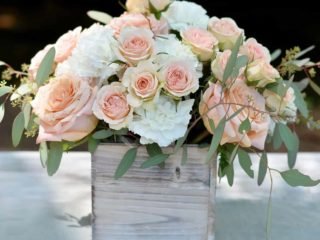 garden centerpiece - blooms by the box