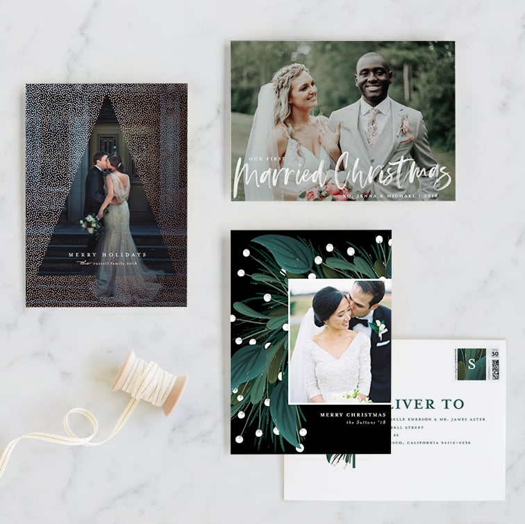 holiday newlywed by minted