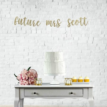 Custom Future Mrs Banner
