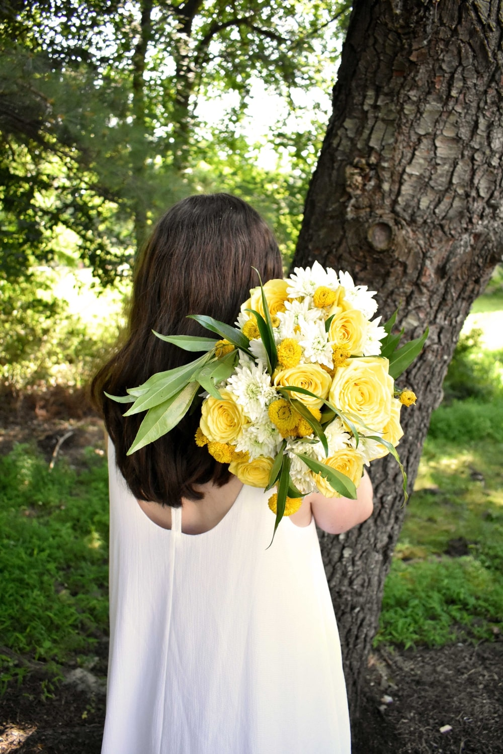 Sunny Yellow Wedding Inspiration With Blooms By The Box