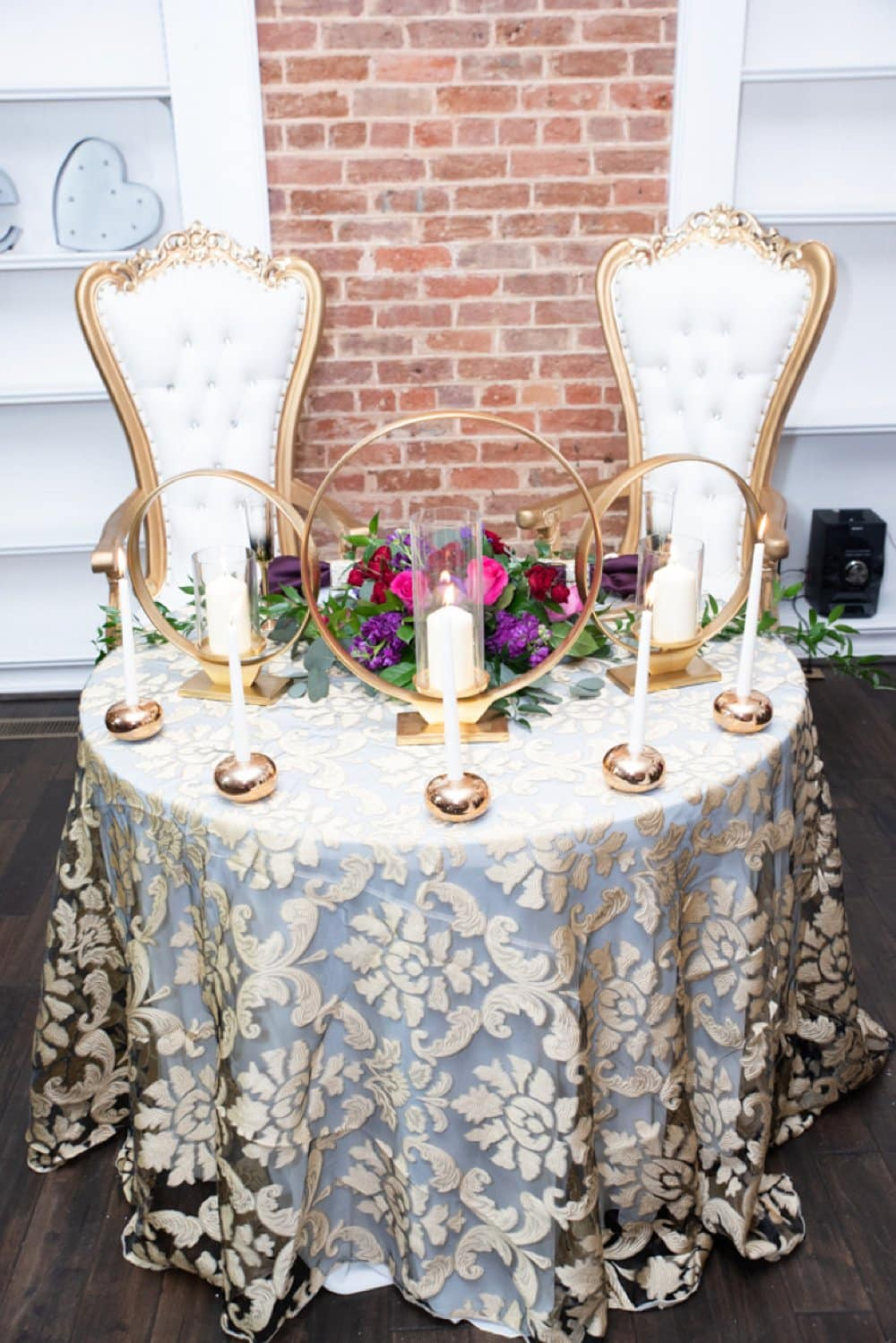 Bold and Beautiful Styled Shoot