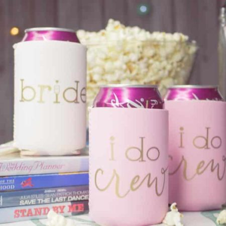 I Do Crew Bachelorette Party Koozies