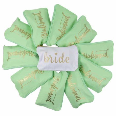 Mint Makeup Bags