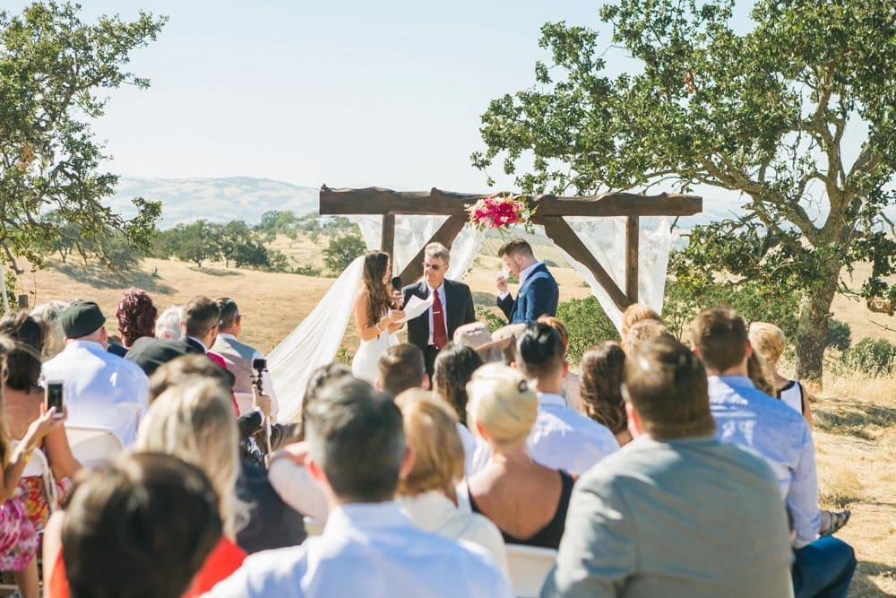 Sunny California Destination Wedding