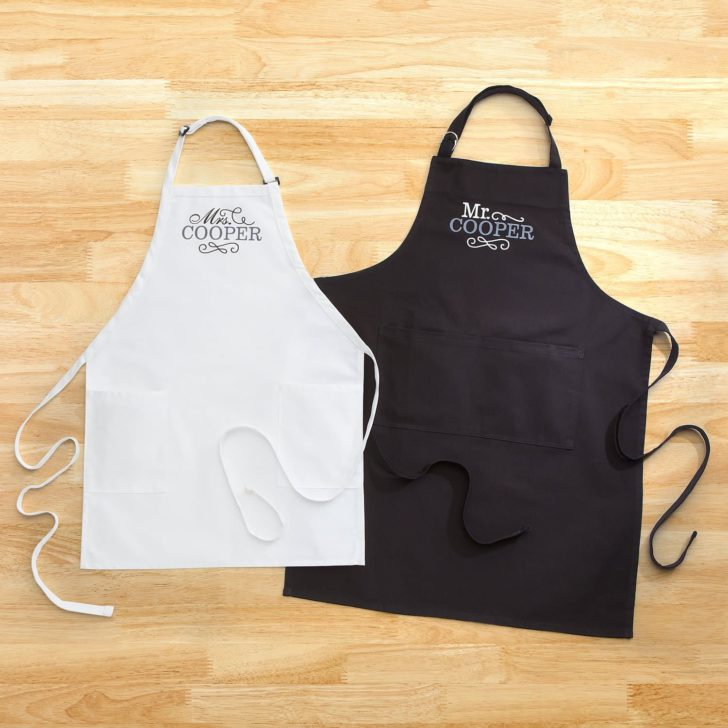 aprons - personalized gifts for couples