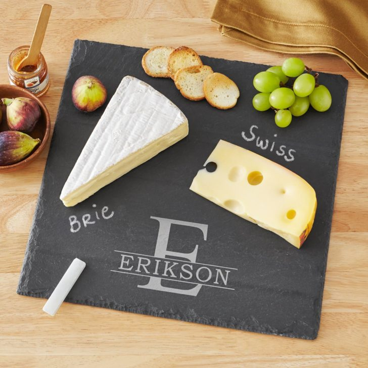 cheese slate - personalized gifts for couples