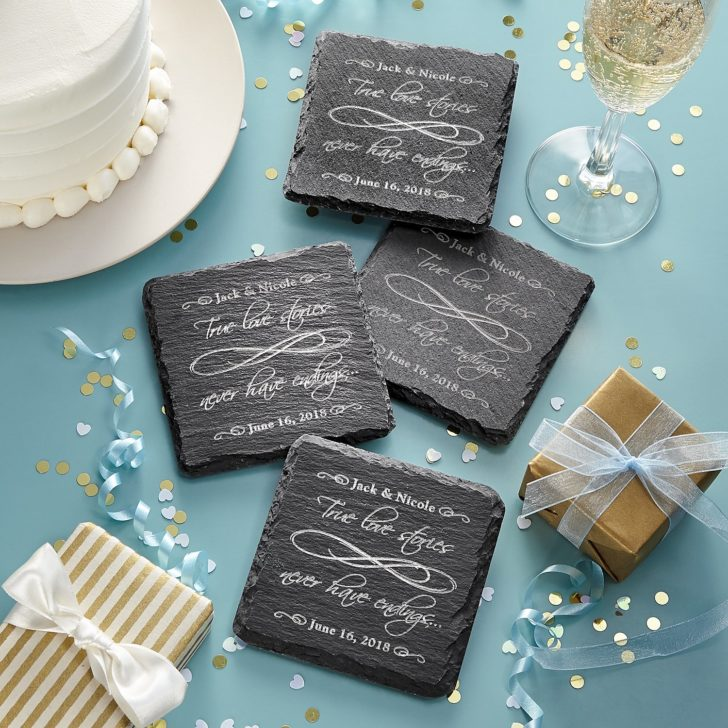 coasters - personalized gifts for couples