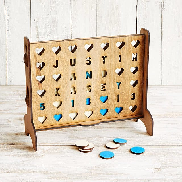 connect four - personalized gifts for couples