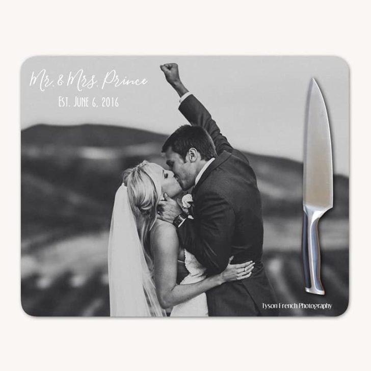 etsy custom photo cutting board