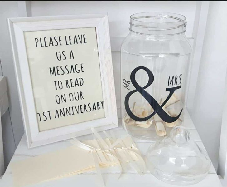 message in a bottle guest book