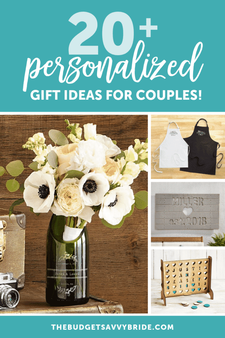 The Cutest Personalized Gifts For Couples The Budget Savvy Bride