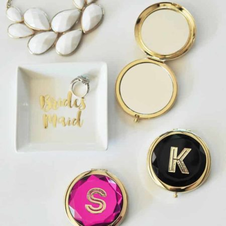 Personalized Custom Compact Mirror