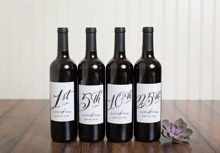 wine bottle guest books