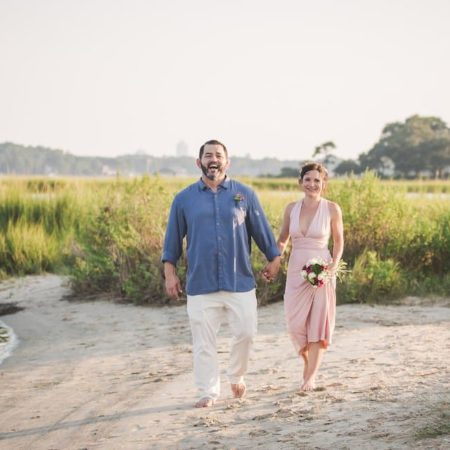 Intimate Oceanside Beach Elopement