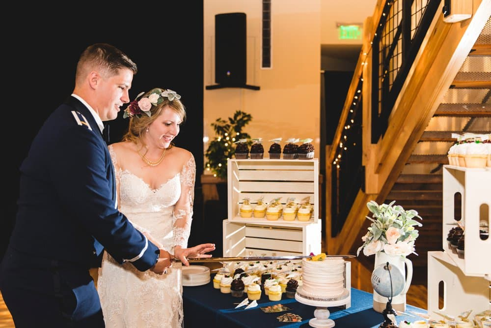 Mountain Air Force Wedding in May